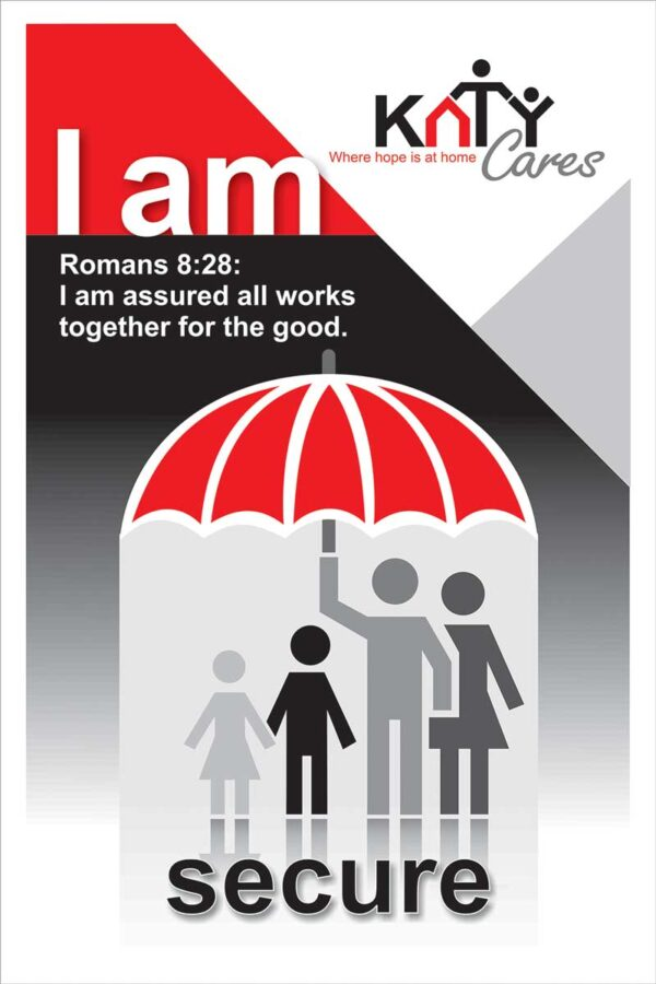 I am secure poster